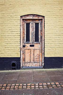 Door Photograph - Front Door by Tom Gowanlock
