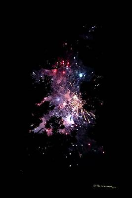 Photograph - Galactic Fireworks by R B Harper