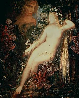 Moreau Painting - Galatea by Gustave Moreau