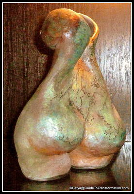 Sculpture - Garden Of My Soul by Satya Winkelman