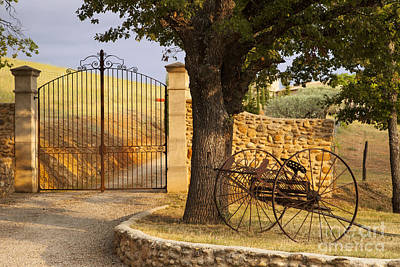 Photograph - Gated Entrance by Brian Jannsen