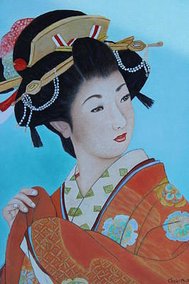 Painting - Geisha Girl by Christine McMillan