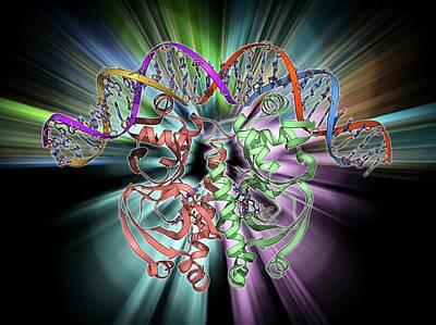 Gene Activator Protein Art Print by Laguna Design