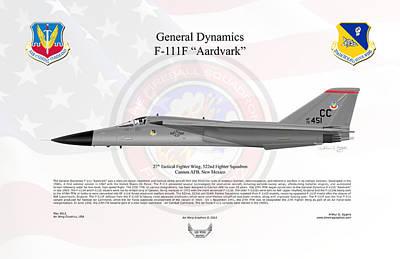 General Dynamics F-111f Aardvark Art Print