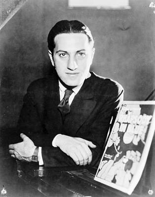 George Gershwin Art Print by Granger