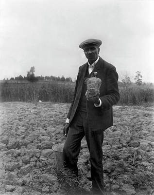 Photograph - George Washington Carver by Underwood Archives