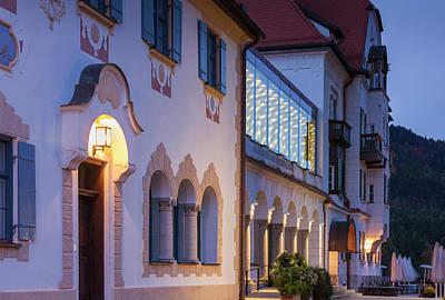 Bavarian Photograph - Germany, Bavaria, Hohenschwangau by Walter Bibikow