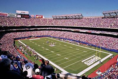 Photograph - Giants Stadium by Allen Beatty