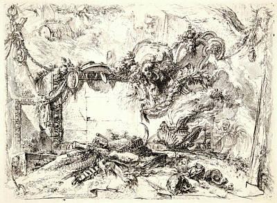 Giovanni Battista Piranesi Italian, 1720 - 1778 Art Print