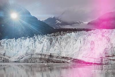 Photograph - Glacier Bay by Pamela Walrath