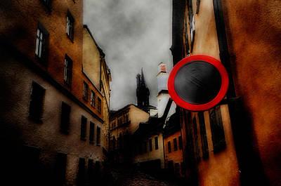 Manipulation Photograph - Go To Sleep by David Fox