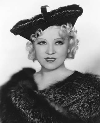 1930s Hairstyles Photograph - Go West Young Man, Mae West, 1936 by Everett