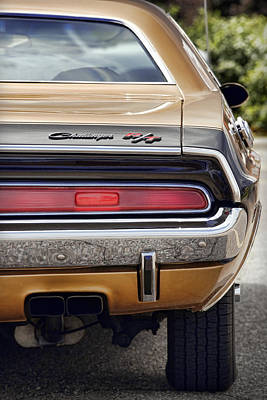 Photograph - Gold '70 Challenger R/t by Gordon Dean II