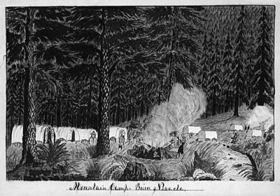 Gold Rush, 1859 Art Print by Granger