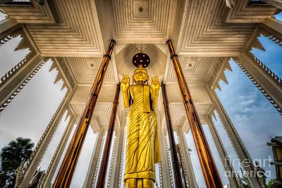 Buddhism Photograph - Golden Buddha by Adrian Evans