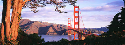 Marin County Photograph - Golden Gate Bridge, San Francisco by Panoramic Images