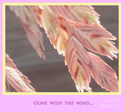 Avantgarde Digital Art - Gone With The Wind by Susanne Van Hulst