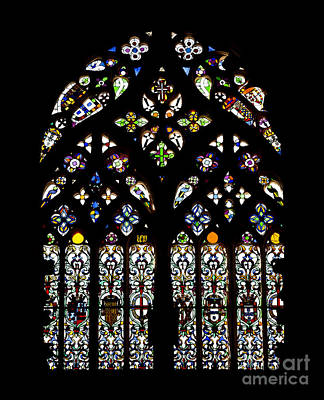 Stain Glass Window Photograph - Gothic Window by Jose Elias - Sofia Pereira