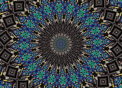 Dean Russo Photograph - Graffiti - Galaxee Kaleidoscope by Graffiti Girl