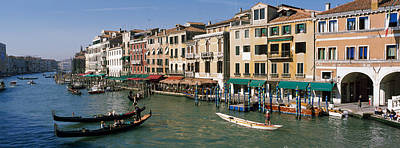 Grand Canal Venice Italy Art Print by Panoramic Images