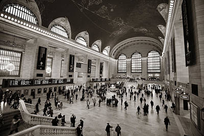 Keith Richards - Grand Central Station by Songquan Deng