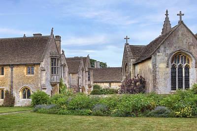 Great Chalfield Manor Art Print by Joana Kruse