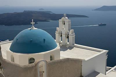 Greece, Santorini Art Print by Jaynes Gallery