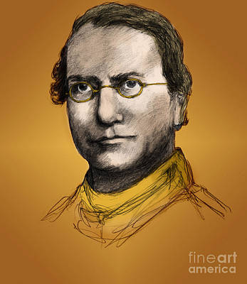 Selective Breeding Photograph - Gregor Mendel, Father Of Genetics by Spencer Sutton