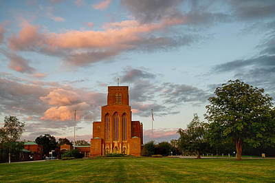 Photograph - Guildford Cathedral England by Shirley Mitchell