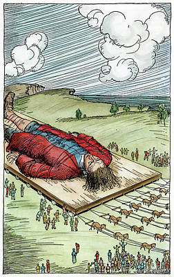 Gulliver's Travels, C1900 Art Print by Granger