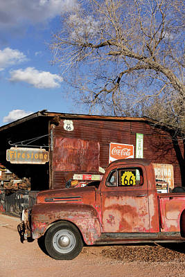 Old General Store Photograph - Hackberry, Arizona, United States by Julien Mcroberts