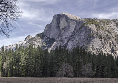 Photograph - Half Dome by Richard Verkuyl