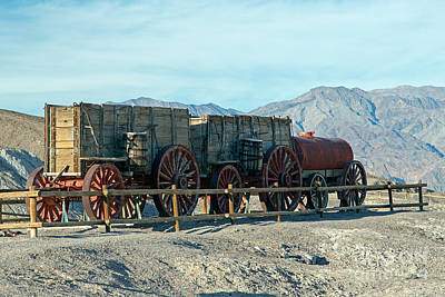 Photograph - Harmony Borax Works Death Valley National Park by Fred Stearns