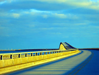 Photograph - Hatteras Bridge by Patricia Januszkiewicz