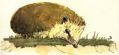 Hedgehog Original by Juan  Bosco