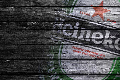 Photograph - Heineken by Joe Hamilton