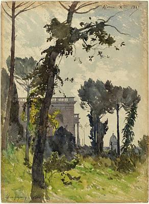 Henri-joseph Harpignies French, 1819 - 1916 Art Print