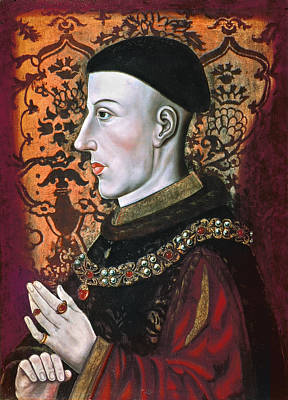 Painting - Henry V (1387-1422) by Granger