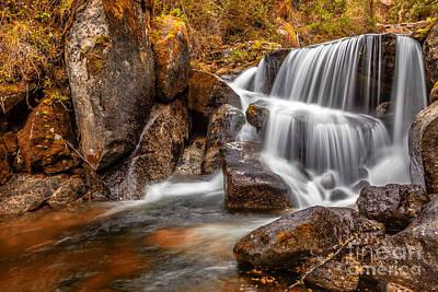 Portugal Photograph - Hidden Waterfall In Fall by Jose Elias - Sofia Pereira