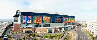 Diamondback Photograph - High Angle View Of A Baseball Stadium by Panoramic Images