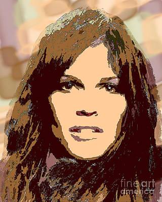Swank Digital Art - Hilary Swank by Dalon Ryan