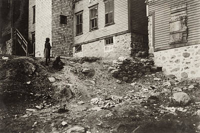Photograph - Hine Mill Housing, 1912 by Granger