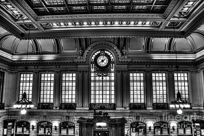 Photograph - Hoboken Terminal by Anthony Sacco