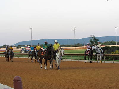 Hollywood Casino At Charles Town Races - 12121 Print by DC Photographer