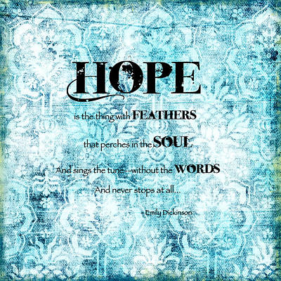 Hope Print by Bonnie Bruno