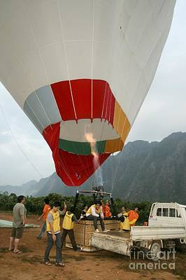 Hot Air Balloon Art Print by PhotoStock-Israel