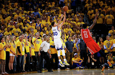 Photograph - Houston Rockets V Golden State Warriors by Ezra Shaw