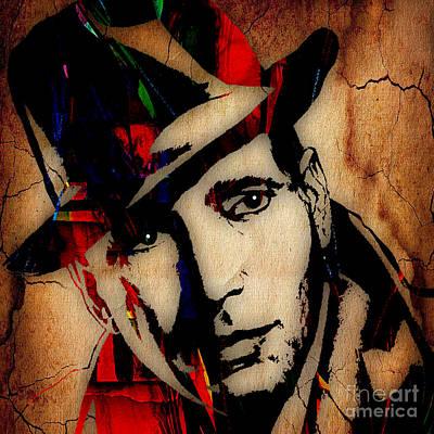 Humphrey Bogart Collection Art Print by Marvin Blaine