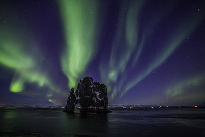 Photograph - Hvitserkur by Frodi Brinks