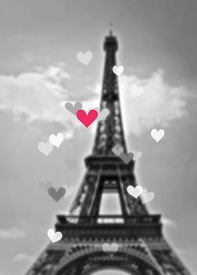 Photograph - Paris Love by JAMART Photography